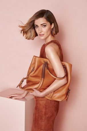 Rose Byrne photographed by Steven Chee for Oroton's Autumn/Winter 2015 ad campaign.