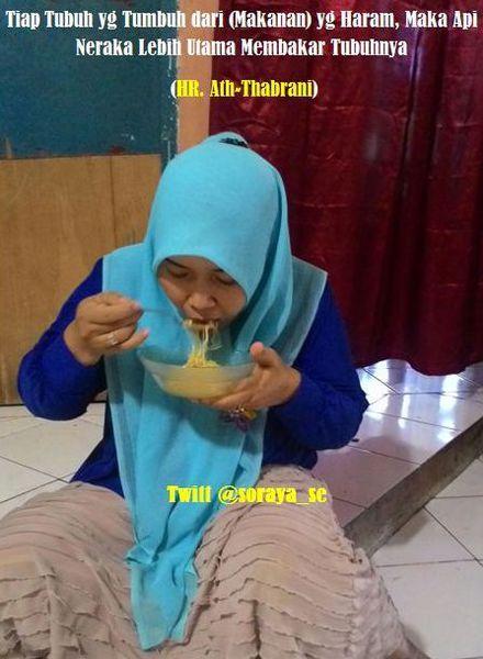 Kapan Kamu Makan Dengan Nikmat? | ask.fm/sorayase