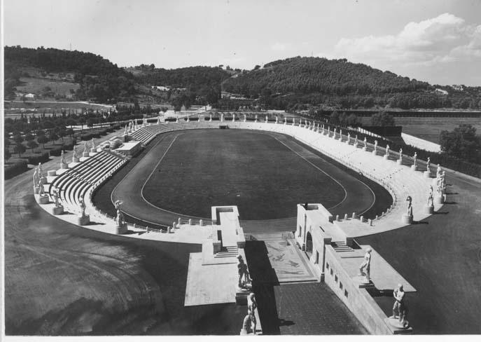 1927-32, Stadio dei marmi al Foro Mussolini (ora Italico ...