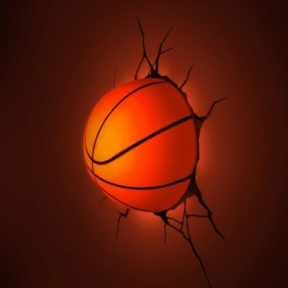 3D Wall Art - 3D Basketball Light - If only  they posted to the UK!
