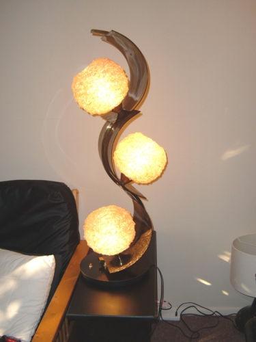 Vintage Mid Century Modern Eames Era 3 Globe 3 Way Lamp. Mitte Des  Jahrhunderts ...