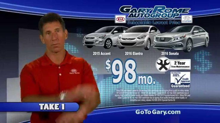 $98/month is no blooper at Gary Rome Hyundai in Holyoke, MA