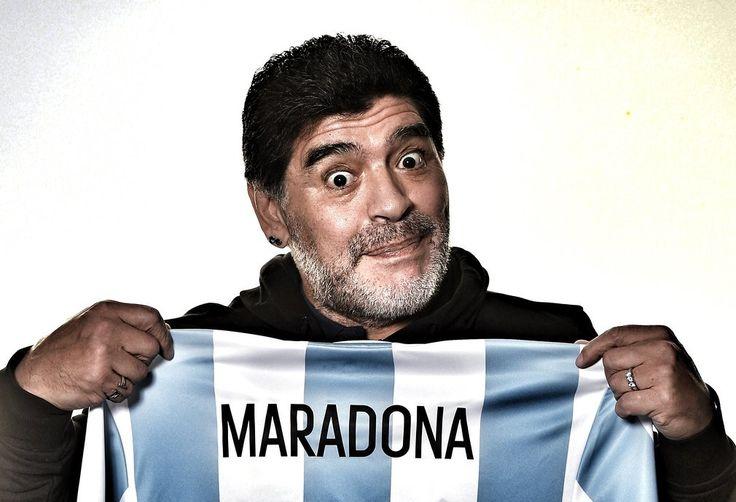 The Argentina legend Diego Maradona - Ardan News