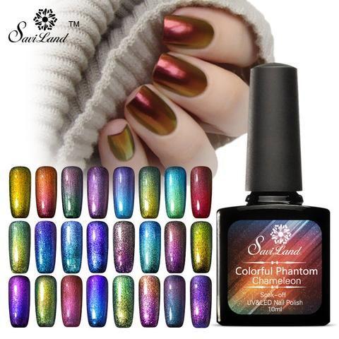 Saviland 1pcs Phantom Chameleon Gel Nail Polish Long-lasting Soak Off UV  Gel Mood Change - Top 25+ Best Uv Gel Nail Polish Ideas On Pinterest Magnetic Nail