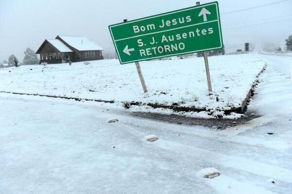 Para começar, lá neva. | 20 provas de que o Rio Grande do Sul é outro país