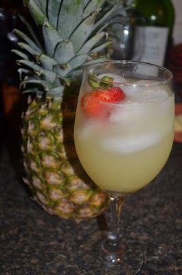 A Healthy Jalapeno: Aloha Champagne Punch