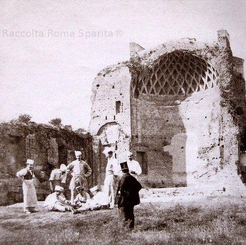 Tempio di Venere e Roma Anno: 1860