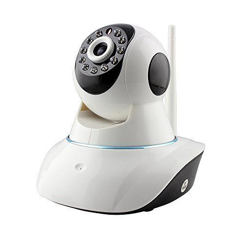 PowerLead Caue PC012 IP Wireless Security Camera Audio Video Baby Monitor 720P HD Wi-Fi Wireless Network Video Monitoring Security IP Camera Home Security Video Recording Easy Remote Access via PC & Smartphone - $49.49