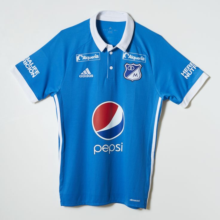 adidas CAMISETA MILLONARIOS HOME MANGA CORTA 2017 - Azul   adidas Colombia