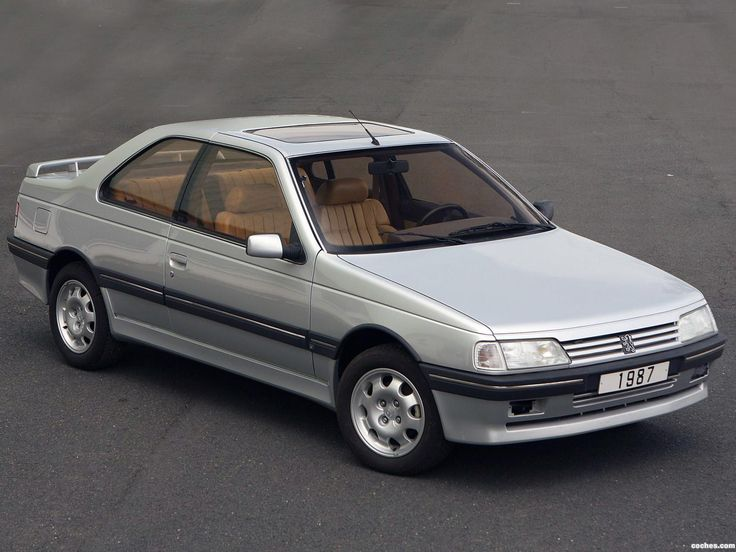 Peugeot 405 MI16 coupé