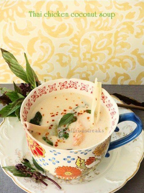 Tom Kha Kai / Thai Chicken Coconut Soup #thaifood #chickensoup #soup #coc