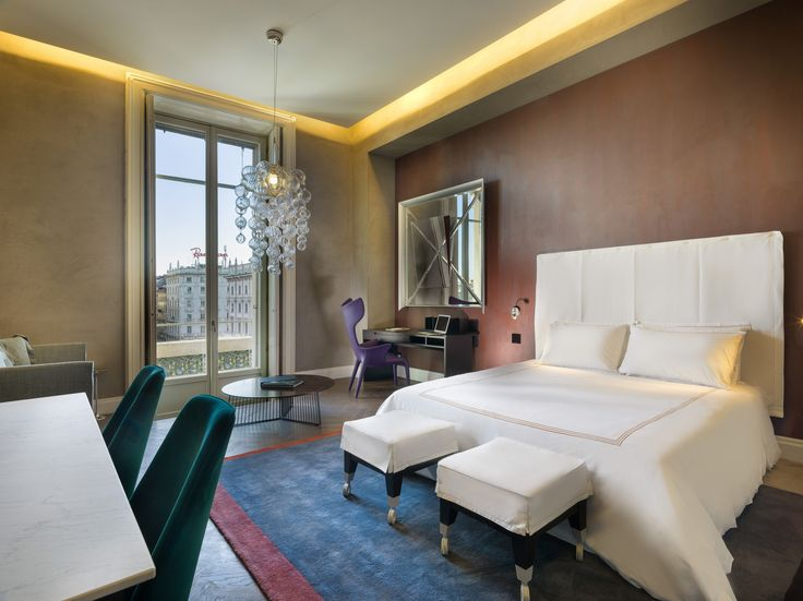 Experience a night in our Suites with Duomo view and private balcony #TownHouseDuomo #Milano