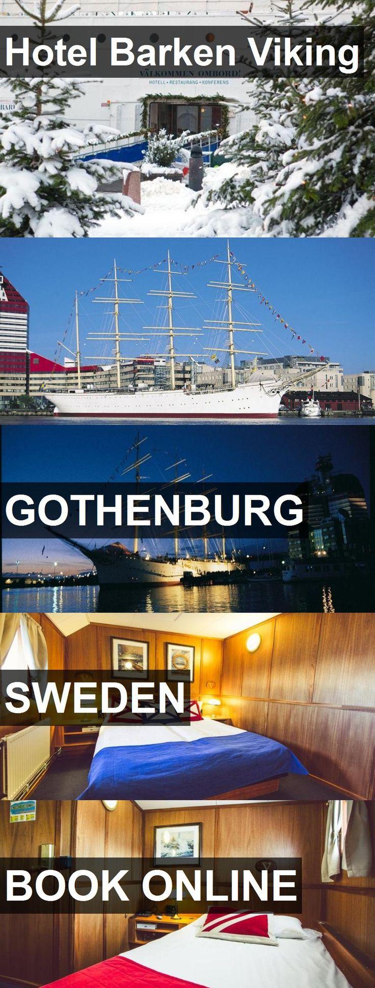 Hotel Barken Viking in Gothenburg, Sweden. For mor…