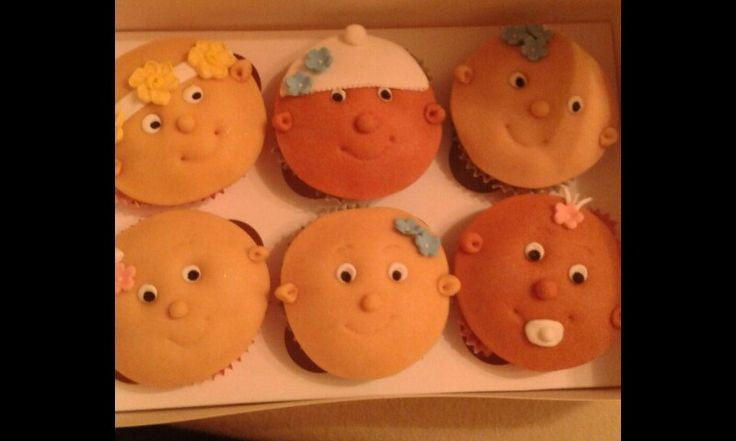 Baby cupcakes that I made