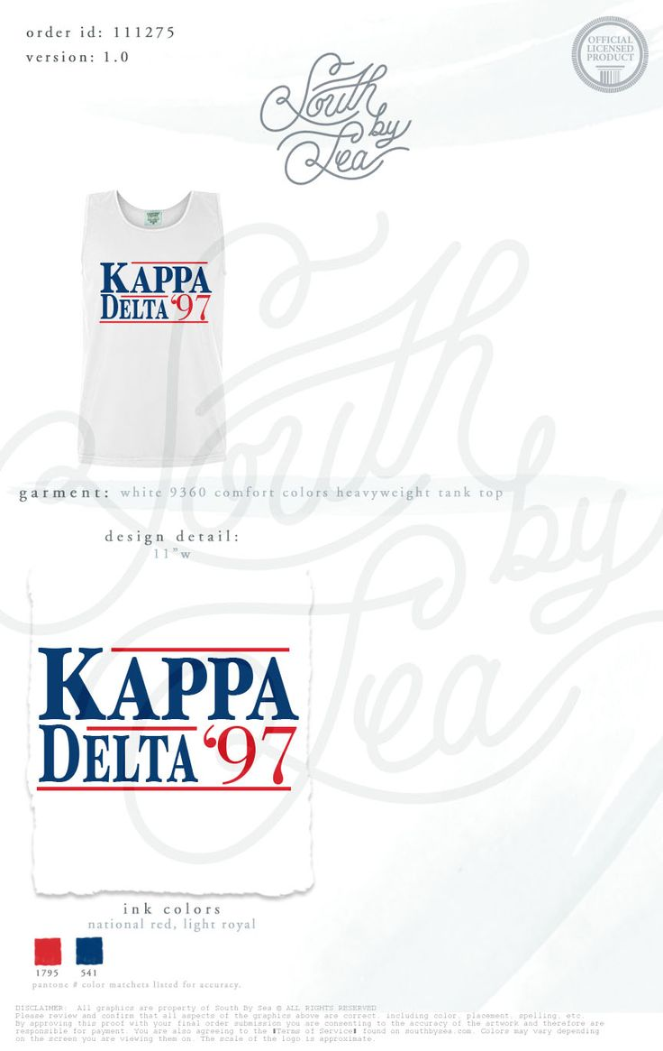 Kappa Delta | KD | Campaign Shirt | Political Theme | Patriotic | American | Retro | Throwback | Slogan | South by Sea | Greek Tee Shirts | Greek Tank Tops | Custom Apparel Design | Custom Greek Apparel | Sorority Tee Shirts | Sorority Tanks | Sorority Shirt Designs