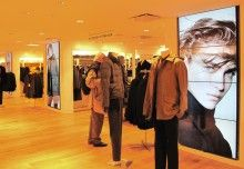 Modular Digital Signage Display Creates Visual Waterfall Effect for Shaw's Retail Stores