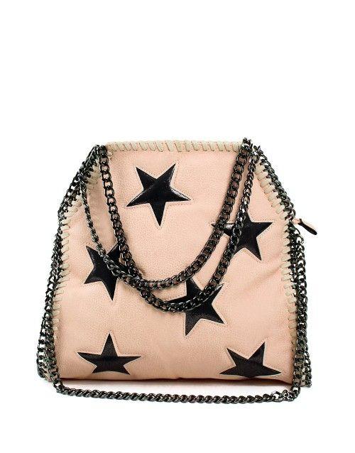 Τσάντα ώμου stars - Ροζ 39,99 €