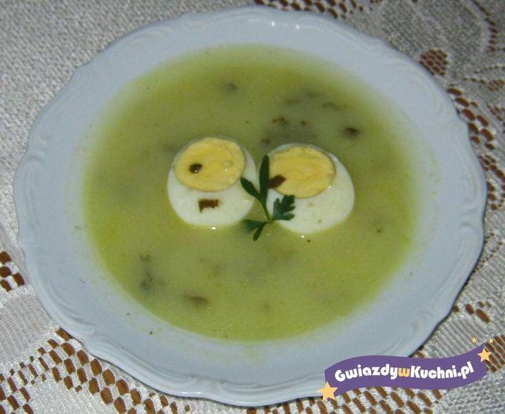 Zupa szczawiowa #zupa #szczaw #pycha