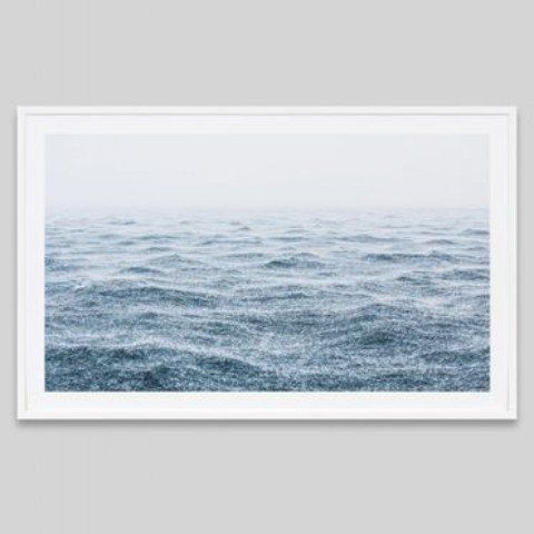 OCEAN RAIN FRAMED PRINT | Design Twins