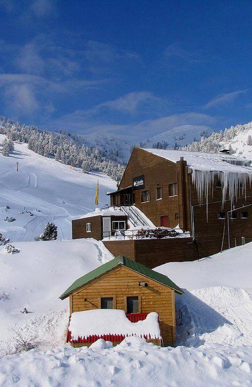 Mainalo Ski Center, Arcadia, Greece   Flickr - Photo by AlxGrn