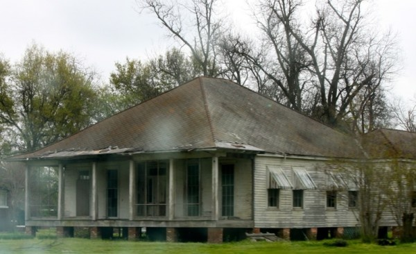 Abandoned old house in the Louisiana Delta.