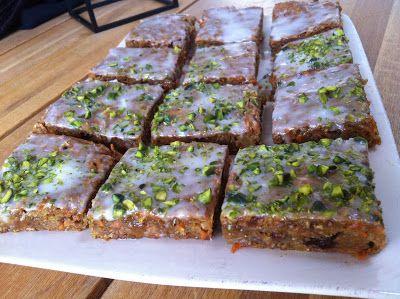 Evas Køkken: Gulerods konfektkage uden fedt