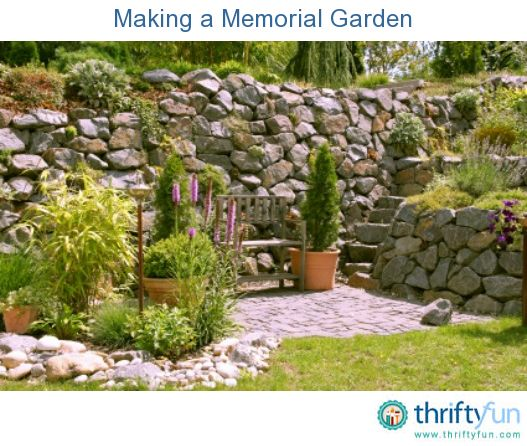 1000 Images About Memorial Garden Ideas On Pinterest