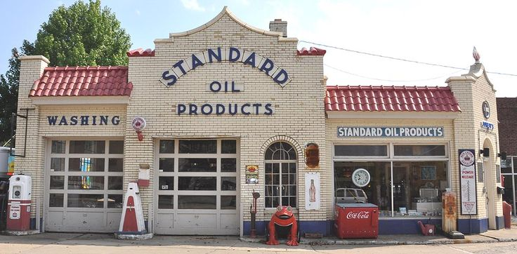 85 Best Images About Old Gas Stations On Pinterest
