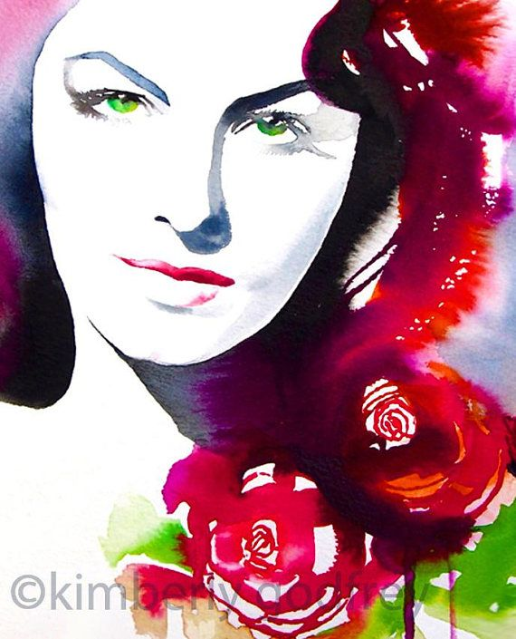 Fashion Forest Beauty Salon: 35295 Best Watercolor & Ink Art (group Board) Images On