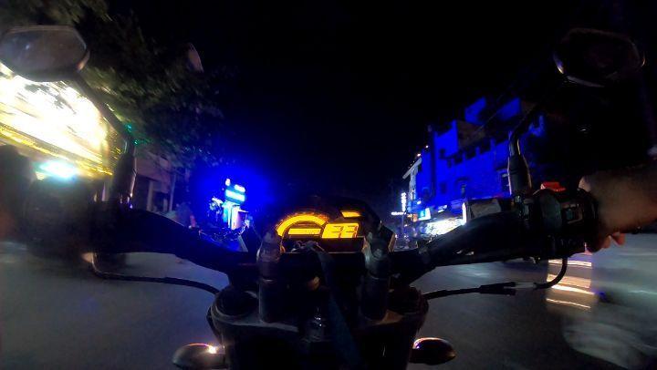 The Night Is Dark Full Of Exuberance Gopro Pondicherry