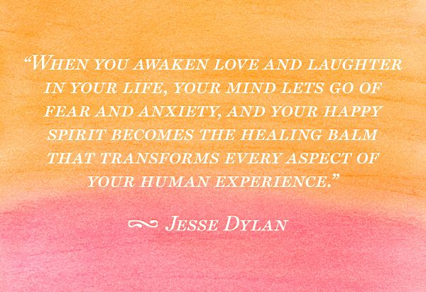Love & Laughter -  The Powerful Healers  of Life.