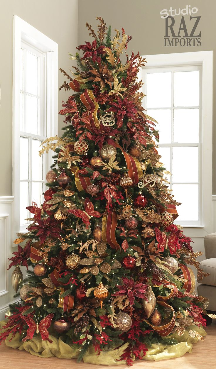 decorated christmas trees 17 best images about tree decorating ideas on 13294