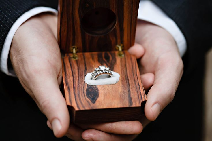 Wooden ring box......simple classy..
