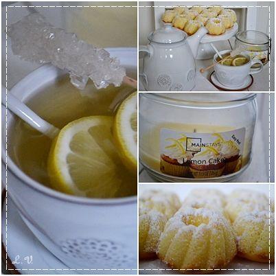 citronové mini bábovičky