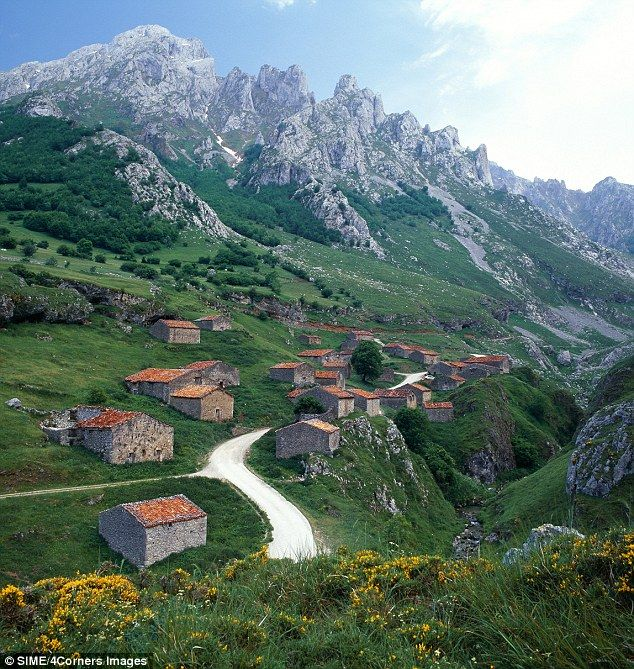 Somewhere in Northern Spain. I am going to find it and stand right here.
