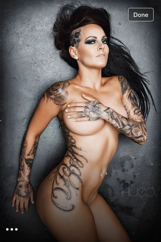 Sexy side tattoo idea