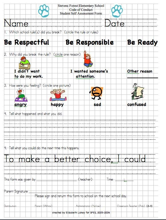 self discipline reflection To help students develop self-esteem and self-discipline as well as a  and have  genuine communication with them giving reflection of feelings.