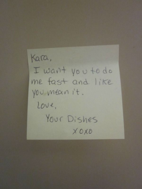 26 passive aggressive housemate notes that are both ...