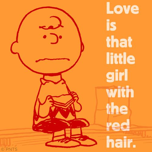 Love is that little girl with the red hair.