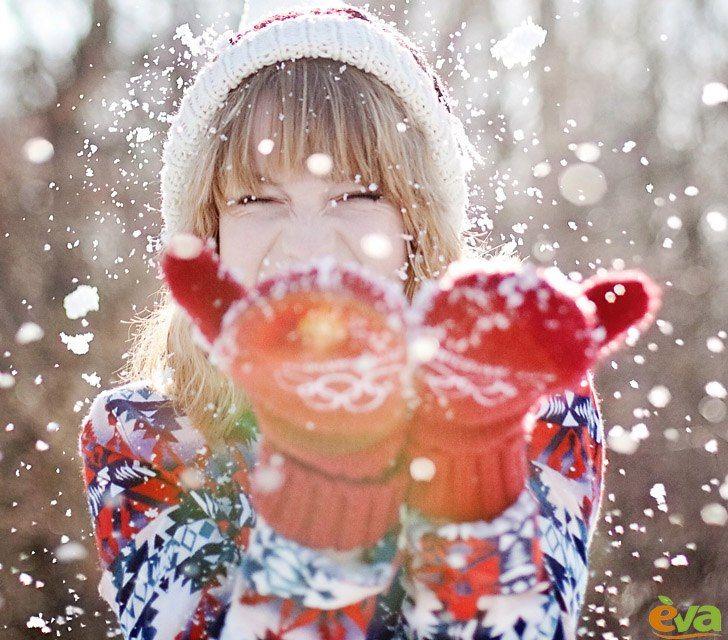 сделать новогодние картинки люди в снегу представители