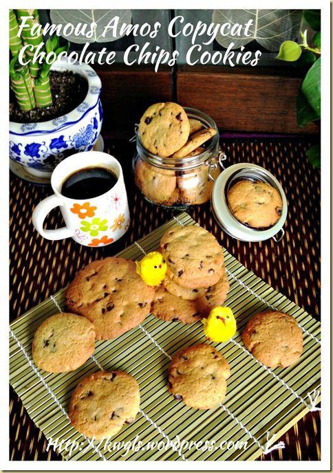 Famous Amos Copycat Chocolate Chips Cookies (山寨版之Famous Amos 巧克力曲奇) | GUAI SHU SHU #guaishushu #kenneth_goh  #Famous_amos_chocolate_chip_cookies  #Famous Amos 巧克力曲奇
