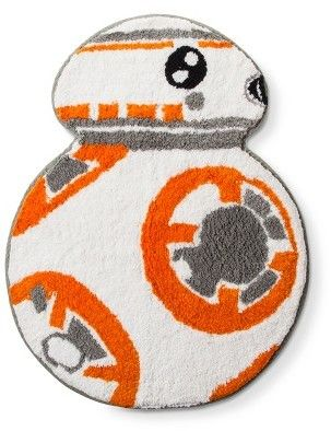 Star Wars Orange Bath Rug