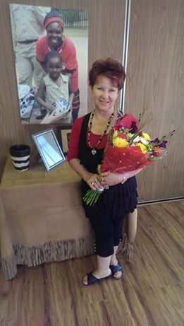 Allow us to introduce Elsa, who is a member of our Reservations Team at Karongwe! Elsa specializes in weddings and will be coordinating a wedding for David and Justine in April 2015!  Her passion, dedication and attention to detail was rewarded this morning when she received these beautiful flowers from David and Justine! As an important member of the Karongwe Team, we are immensely proud of her – Well done Elsa!