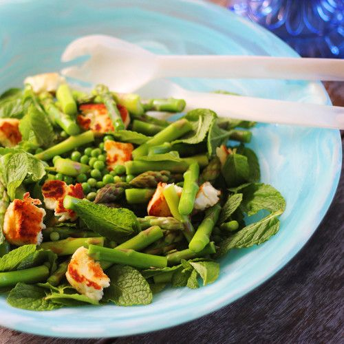 Baby Pea, Mint and Asparagus Salad