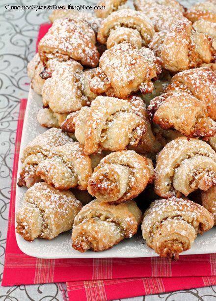 Walnut Rugelach Cookies | Cinnamon Spice & Everything Nice