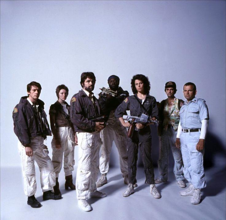 Alien, le huitième passager - Yaphet Kotto - Harry Dean Stanton - Tom Skerritt - John Hurt - Ian Holm - Veronica Cartwright - Sigourney Weaver
