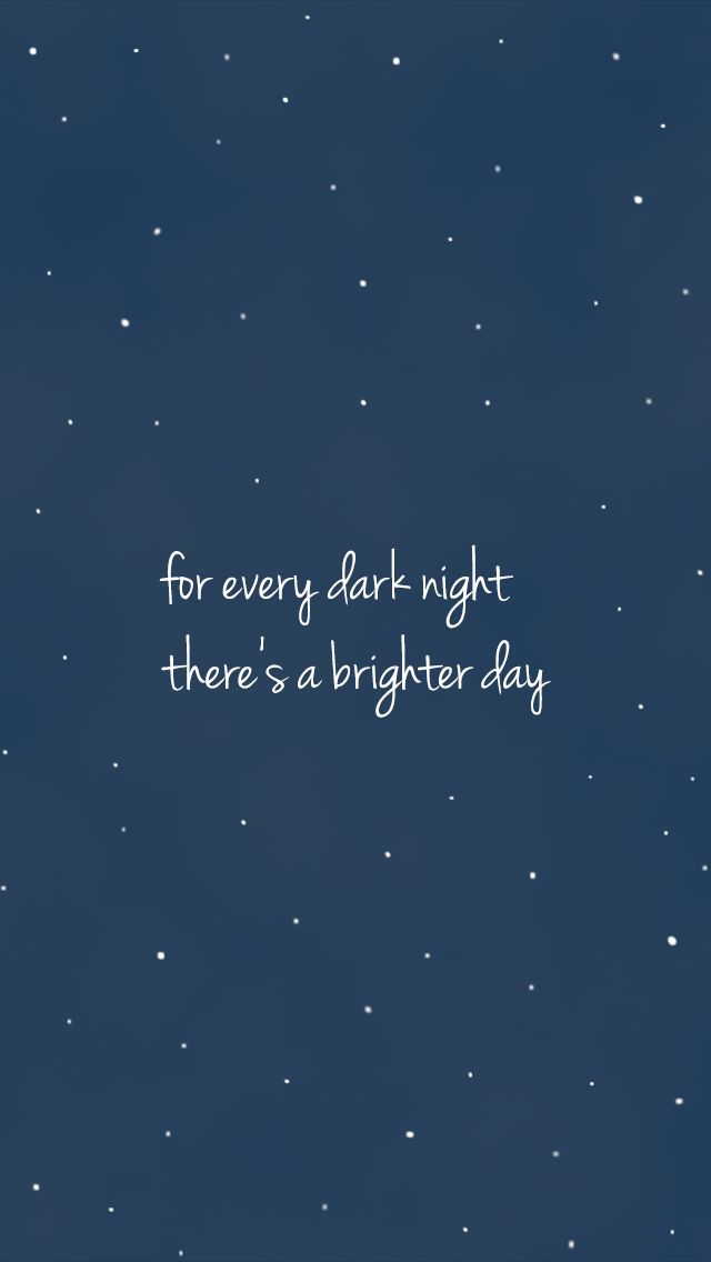 Midnight navy blue stars sky brighter day iphone for Wallpaper home screen tumblr