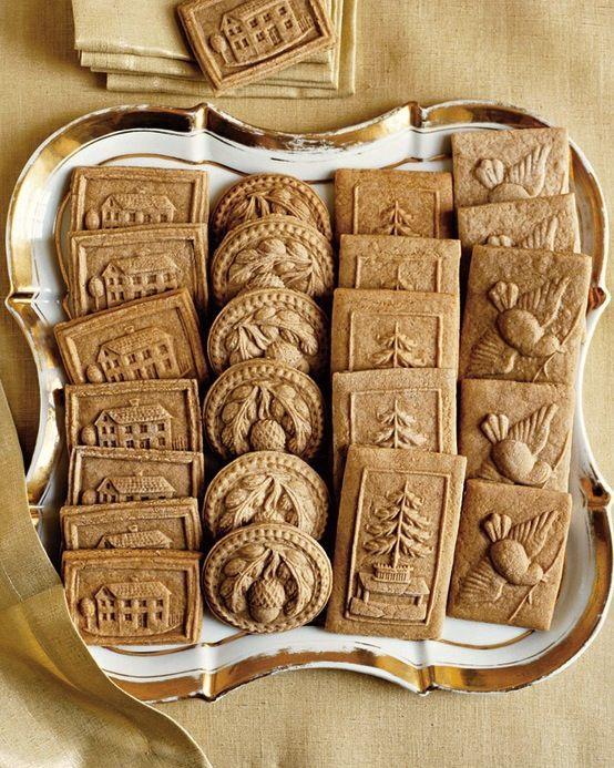 Ideas para bodas (Dulces): Preciosos diseños vintage para unas galletas muy chic #bodachic // Wedding ideas: (Confectionery): Lovely vintage cookies