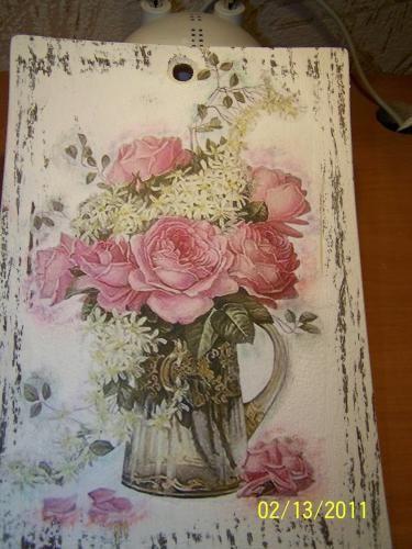 Charming Нажмите на фото чтобы увидеть больше! Decoupage Art Craft Handmade Home  Decor DIY Do It Yourself Tutorial Materials And Techniques: Acrylic ...