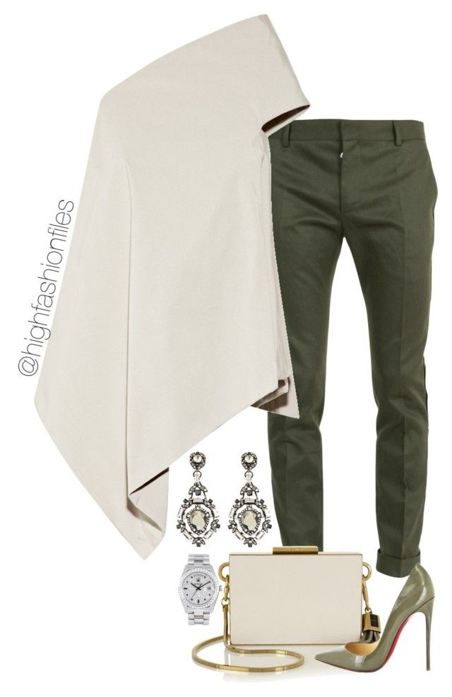 """Mature Style"" by highfashionfiles ❤ liked on Polyvore"